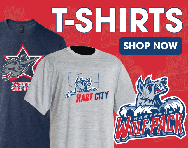 Shop Hartford Wolf Pack T-shirts